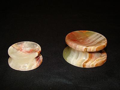 Aragonit stojánky pod koule