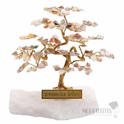 Stromeček štěstí achát R4