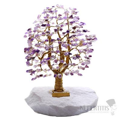 Stromeček štěstí ametyst A3