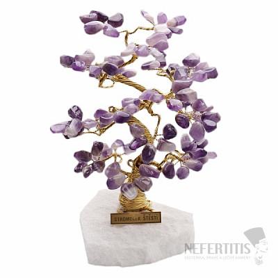Stromeček štěstí ametyst B2