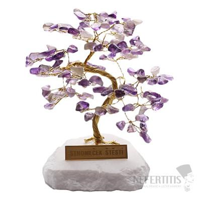Stromeček štěstí ametyst R4