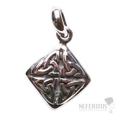 Keltský přívěsek stříbro Ag 925