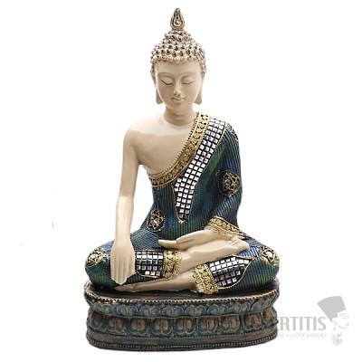 Buddha dotýkající se Země thajská soška