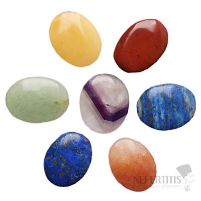 Čakrová sada kamenů proti stresu