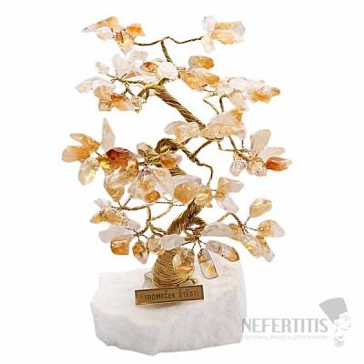 Stromeček štěstí citrín B2
