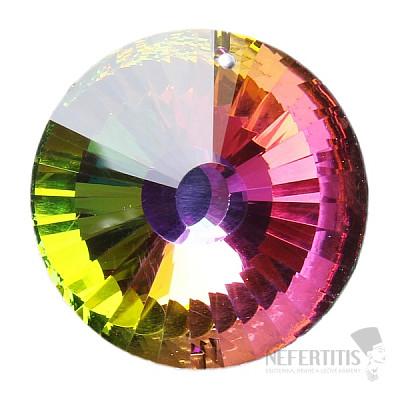 Slunce Feng Shui broušený křišťál duhový Multicolor