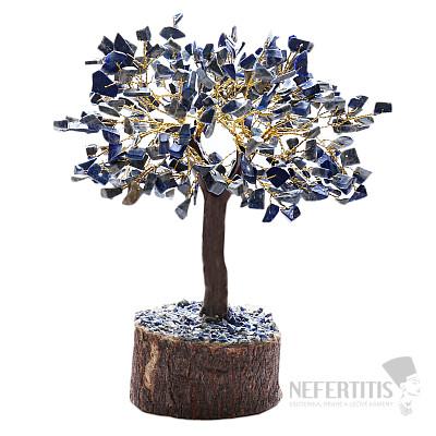 Feng Shui stromeček Lapis lazuli a dřevo 051