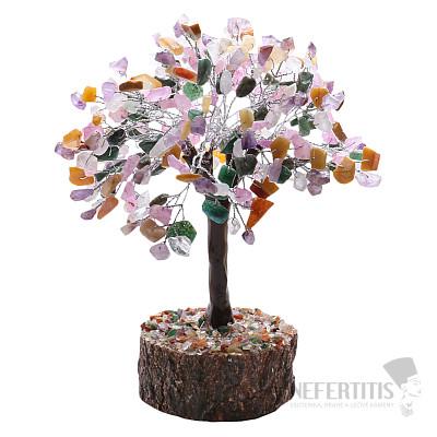 Feng Shui stromeček multicolor a dřevo 004