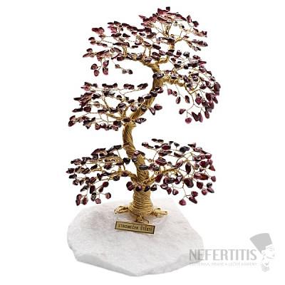 Stromeček štěstí granát A4