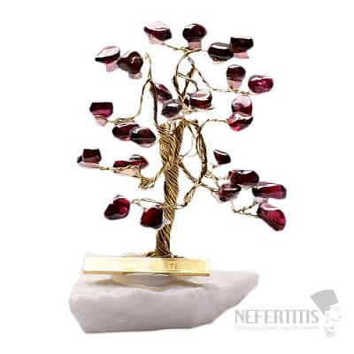 Stromeček štěstí granát