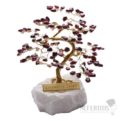 Stromeček štěstí granát R4