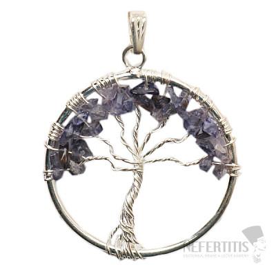 Iolit přívěsek Strom života