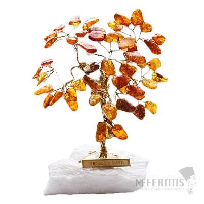 Stromeček štěstí jantar R3