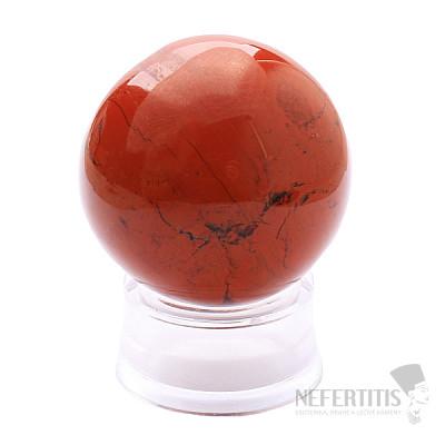 Jaspis červený koule