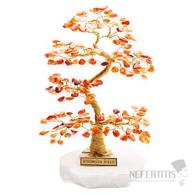 Stromeček štěstí karneol A2