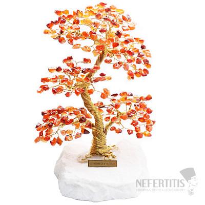 Stromeček štěstí karneol A4