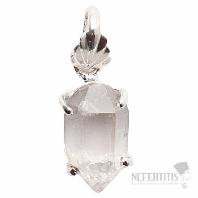 Herkimer diamant přívěsek stříbro Ag 925 P966