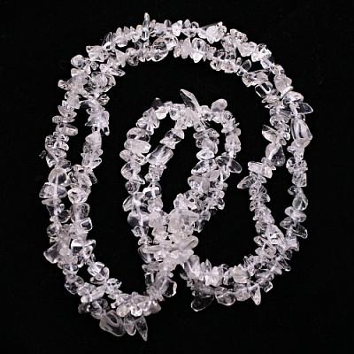Křišťál náhrdelník sekaný