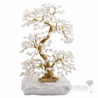 Stromeček štěstí křišťál A4