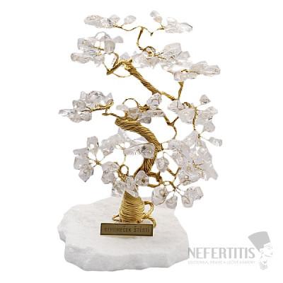 Stromeček štěstí křišťál B2
