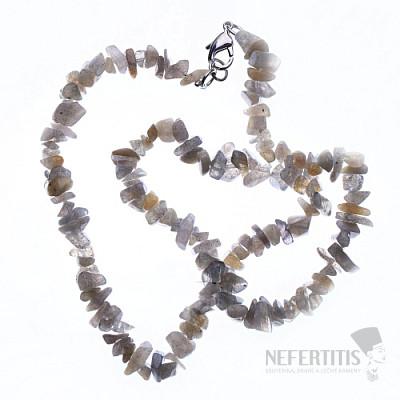 Labradorit náhrdelník sekaný