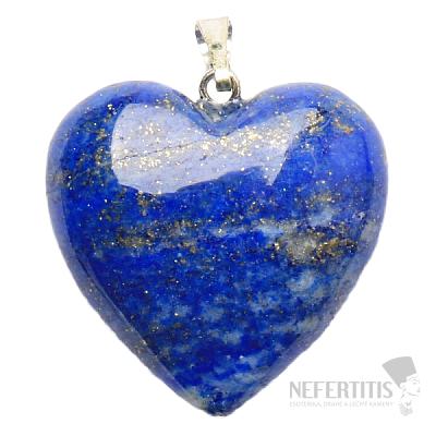 Lapis lazuli přívěsek srdíčko A kvalita