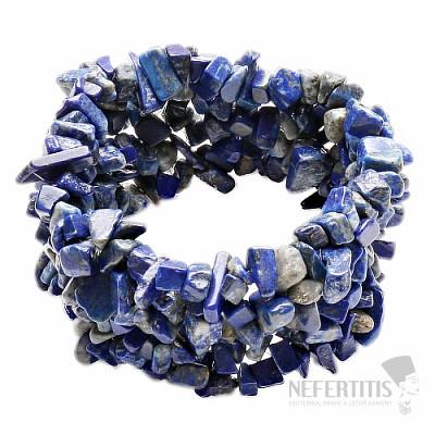 Lapis Lazuli náramek sekaný široký