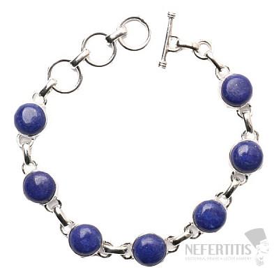 Lapis Lazuli náramek stříbro Ag 925 B131
