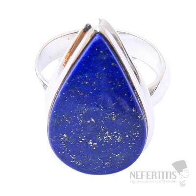 Lapis Lazuli prsten stříbro Ag 925 R1494