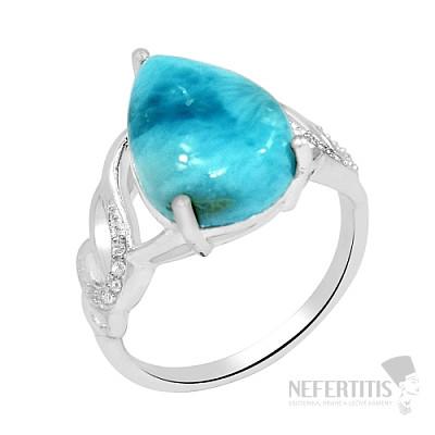 Larimar prsten stříbro LD 02 Ag 925