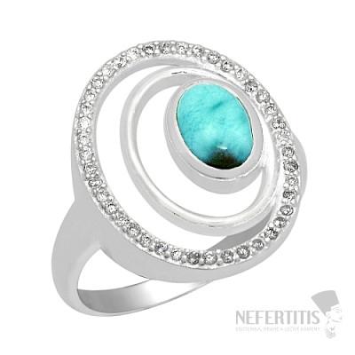 Larimar prsten stříbro LD 09 Ag 925