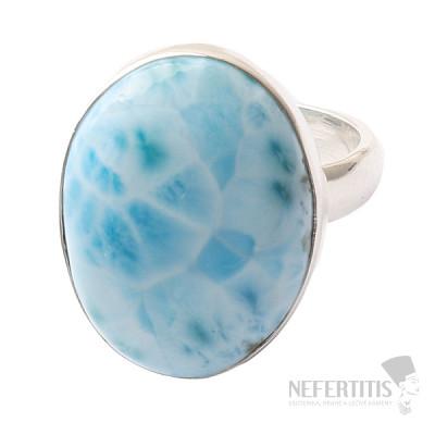 Larimar prsten stříbro Ag 925 R1047