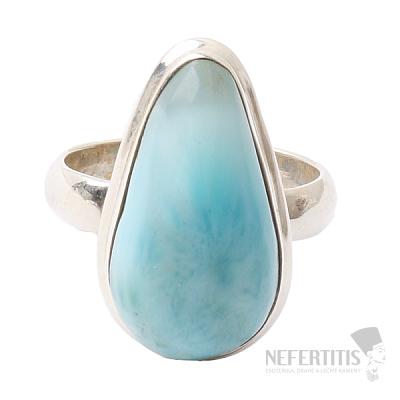 Larimar prsten stříbro Ag 925 R106