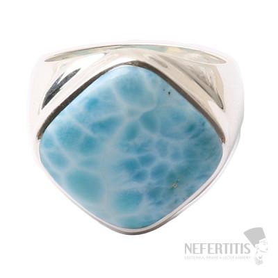 Larimar prsten stříbro Ag 925 R1087