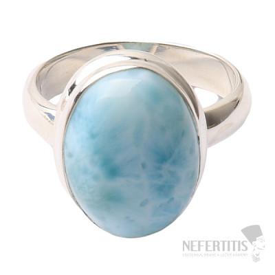 Larimar prsten stříbro Ag 925 R986