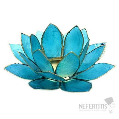 Svícen lotos pro čakru hrdla