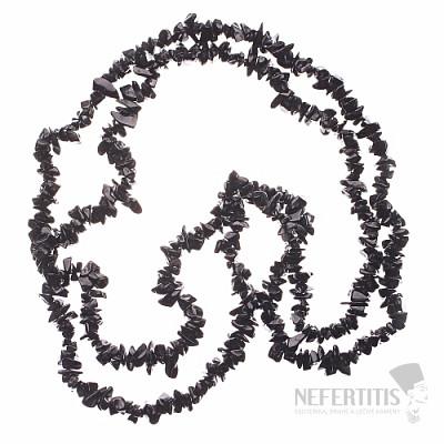 Onyx náhrdelník sekaný