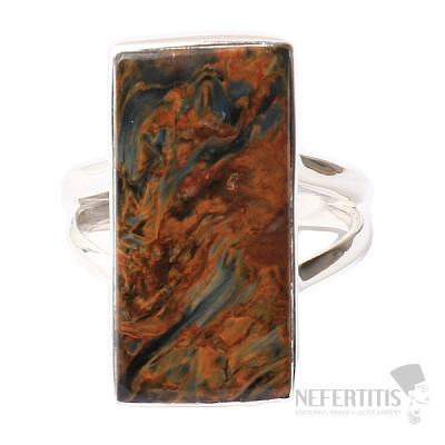 Pietersit prsten stříbro Ag 925 R490