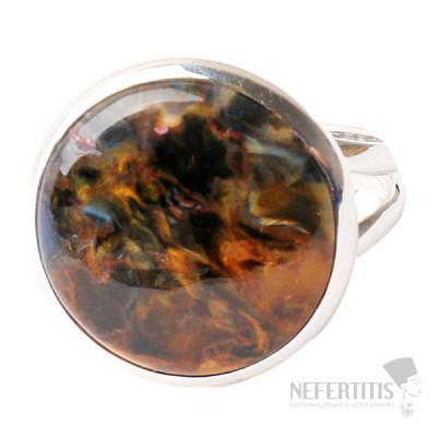 Pietersit prsten stříbro Ag 925 R530