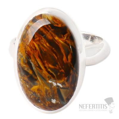 Pietersit prsten stříbro Ag 925 R502