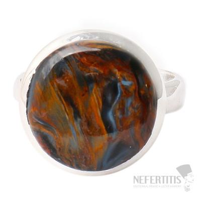 Pietersit prsten stříbro Ag 925 R506