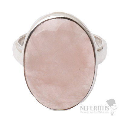 Růženín prsten stříbro Ag 925 R1107