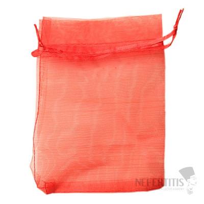 Dárkový sáček organza červený