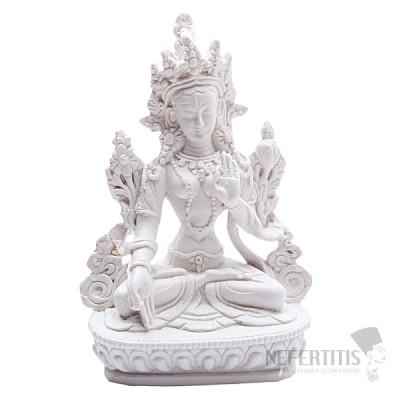 Feng Shui bílá soška bohyně Bílá Tárá