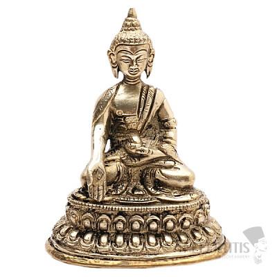 Buddha Ratnasambhava soška mosaz