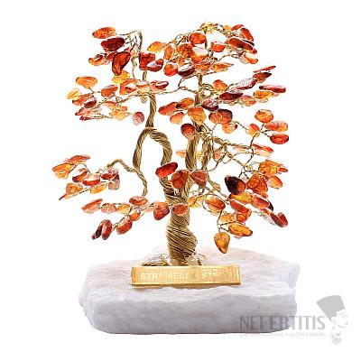 Stromeček štěstí jantar A1
