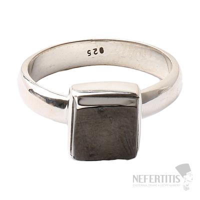 Šungit prsten stříbro Ag 925 R838