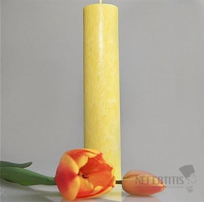 Svíčka pro 3. čakru kulatá