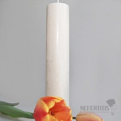 Svíčka pro 7. čakru kulatá