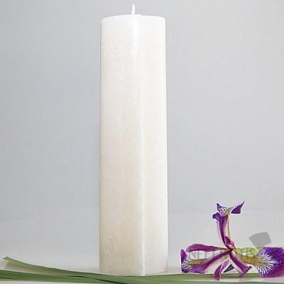 Svíčka pro 7. čakru přesazený ovál